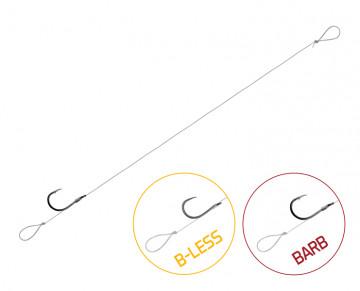 Feedrový nadväzec Delphin FLR Loop / 6ks