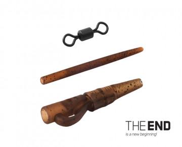 Montáž THE END na olovo pin-swivel / 6ks