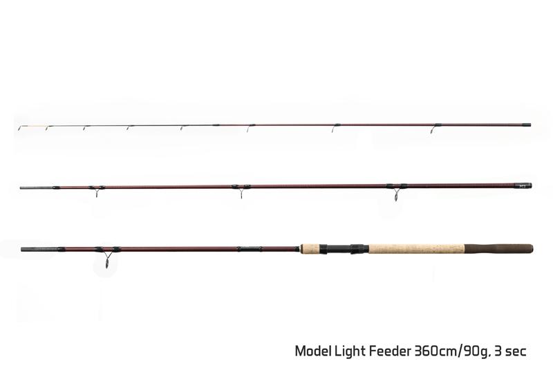 Delphin MAGMA M3 Light feeder / 3 díly
