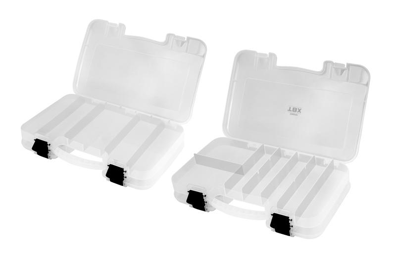 Krabica Delphin TBX Duo 298-12P Clip 298x220x57mm