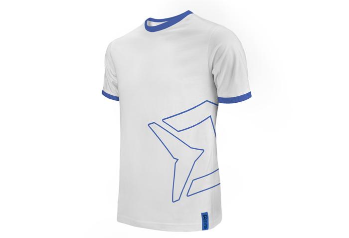 Tričko Delphin HYPER bílé XL