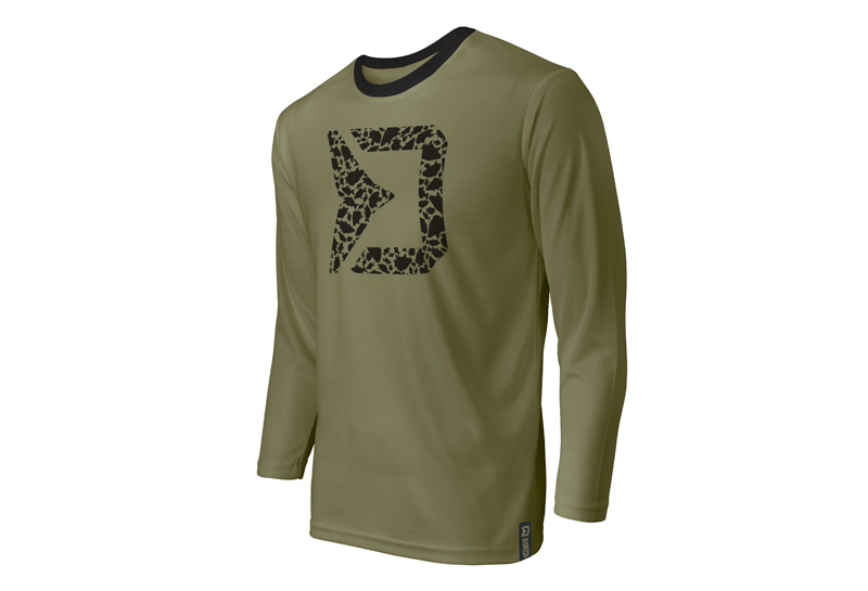 Tričko s dlouhým rukávem Delphin RAWER Carpath M