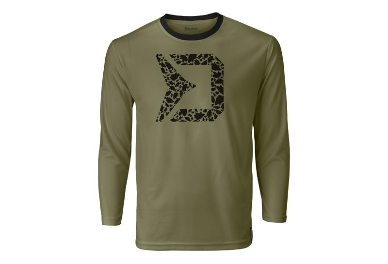 Tričko s dlhým rukávom Delphin RAWER Carpath S