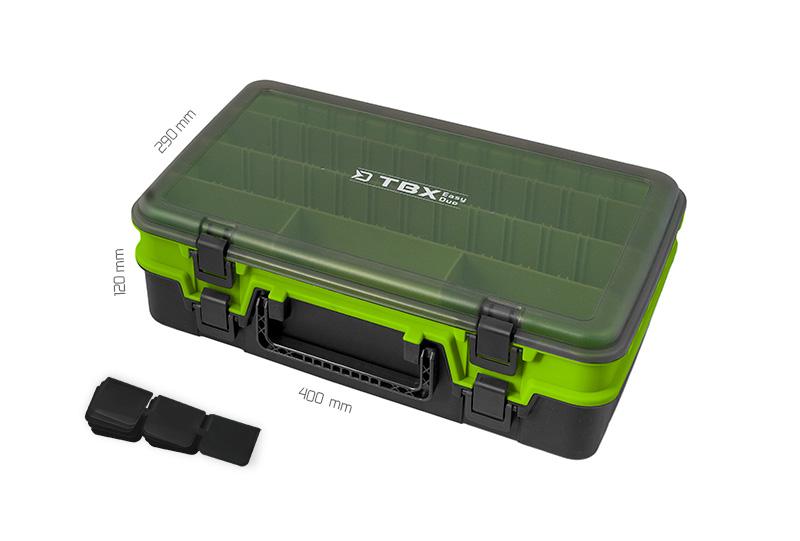 Krabice Delphin TBX EasyDuo 385-10P,385x270x125mm