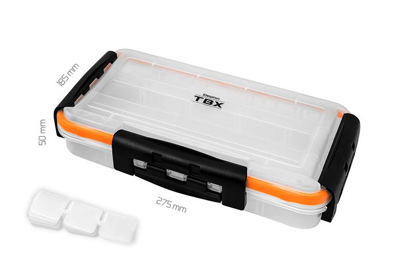 Krabice Delphin TBX One 275-3P Clip WP,275x185x50mm