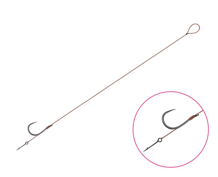 Feederový návazesc Delphin Proxi 8 Sting / 6ks,8cm #6 SM