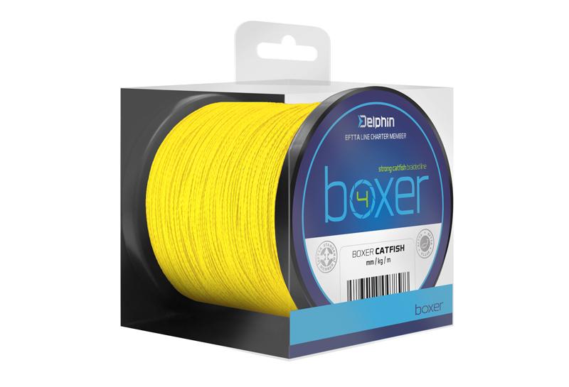 Delphin BOXER 4 / fluo žlutá