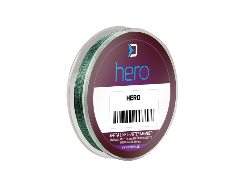 Delphin HERO 8 / zelená0,12mm 8,20kg 15m