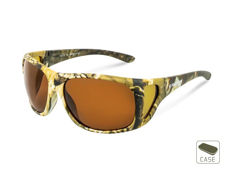 Polarizačné okuliare Delphin SG FOREST FF / Full FRAME