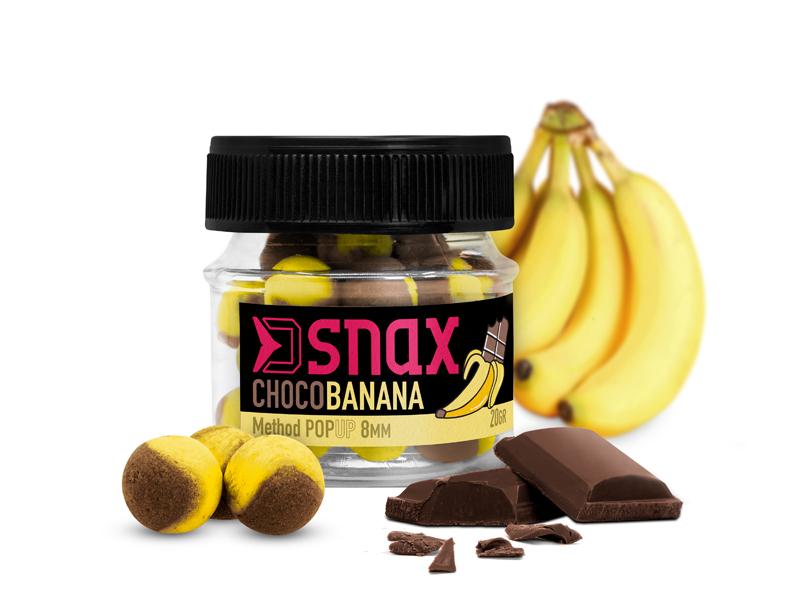Nástraha D SNAX POP 8mm/20gČokoláda-Banán