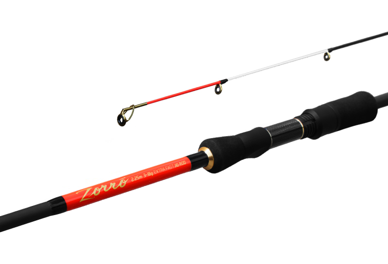 Prut Delphin Zorro 225cm/3-18g