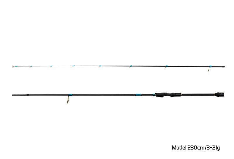 Prut Delphin Zandera 210cm/3-21g