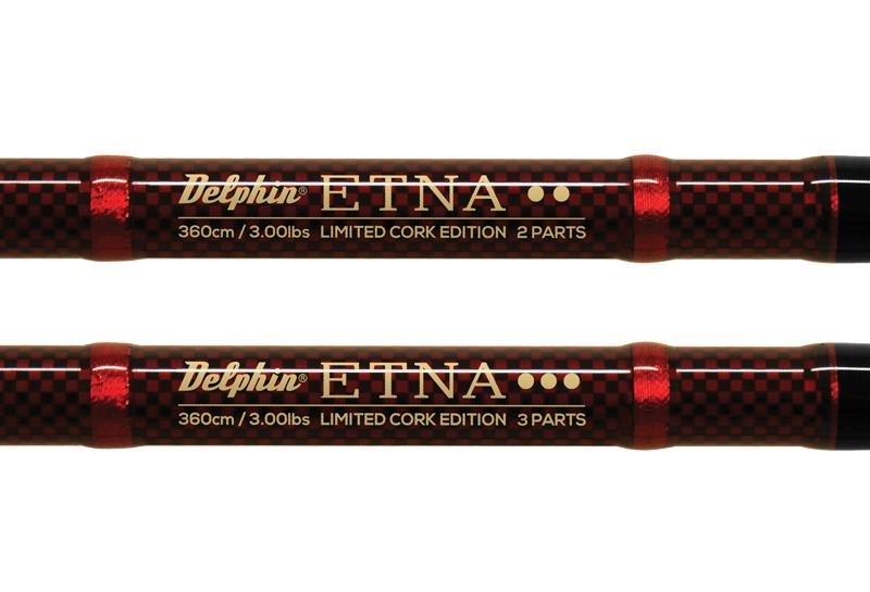 Prut Delphin ETNA CARP limited cork edition 2 díly 3,6m 3lb