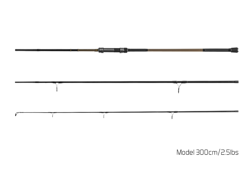 Prut Delphin Carp Trip - 3 díl 300cm/3.0lbs