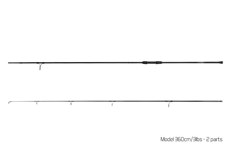 Prut Delphin Symbol Carp - 2 díl 360cm/3.00lbs
