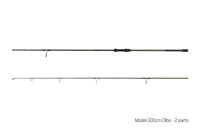 Delphin NEXIS CARP 300cm/2.50lbs/ 2-diel