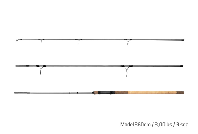 Delphin TORKS CORK / 2 díly  360cm/3,00lbs
