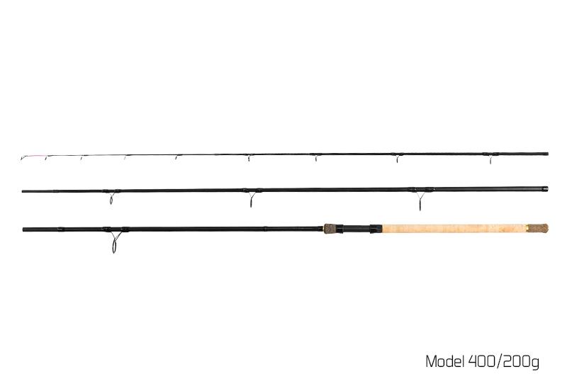 Delphin RIVER Trophy Feeder X-TRA + 4 špičky 360cm/200g