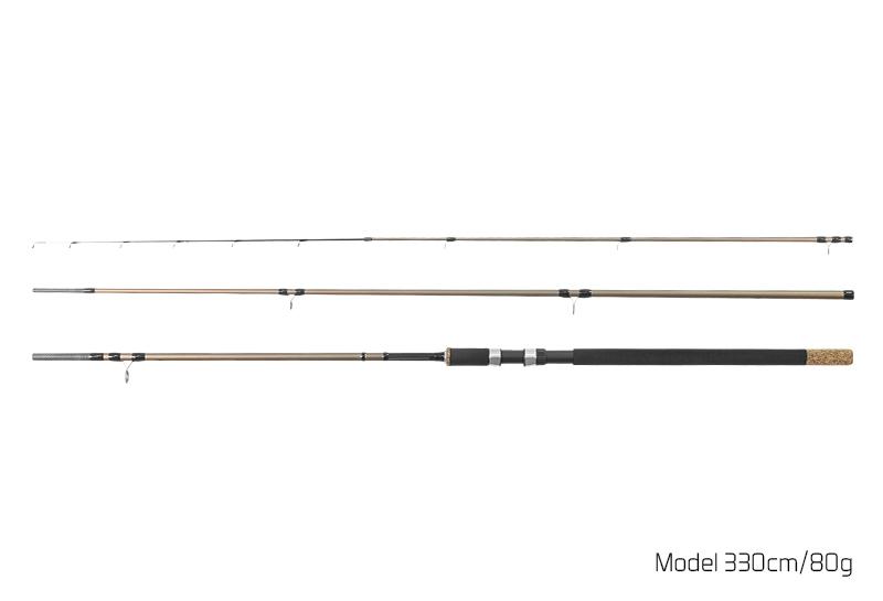 Prut Delphin Legia Feeder II - 3 špičky 360cm/120g