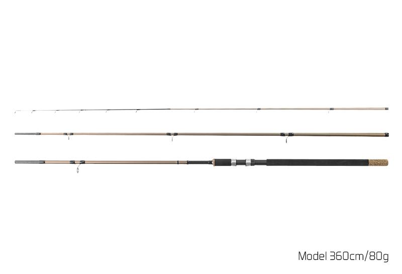 Delphin LEGIA Feeder II + 3 špičky 330cm/80g