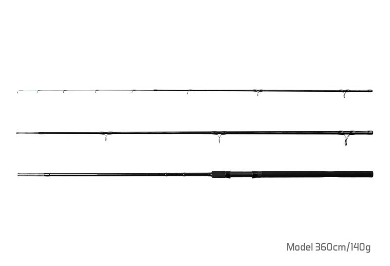 Prut Delphin Symbol Feed + 2 špičky 360cm/140g