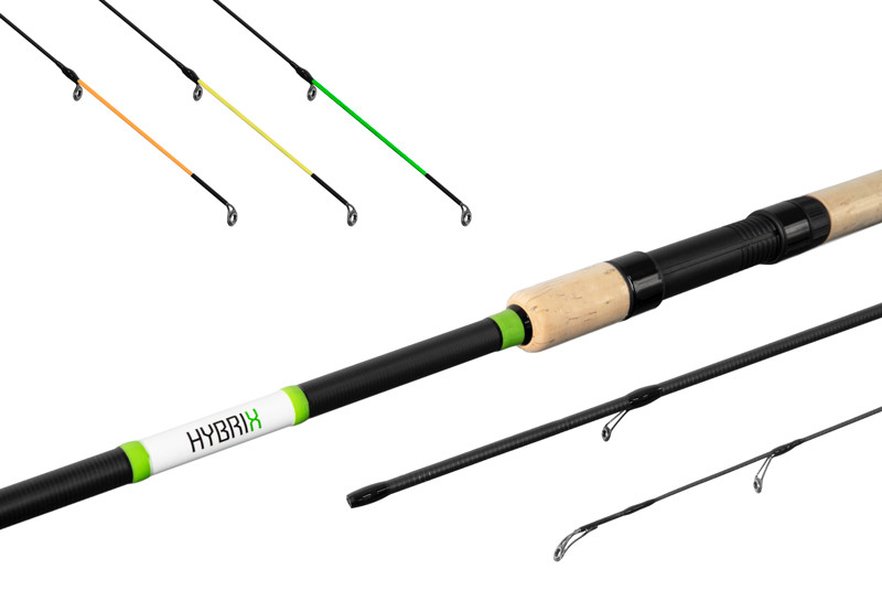 Prut Delphin Hybrix Match/Picker + 3 špičky 3,0m/30g+60g