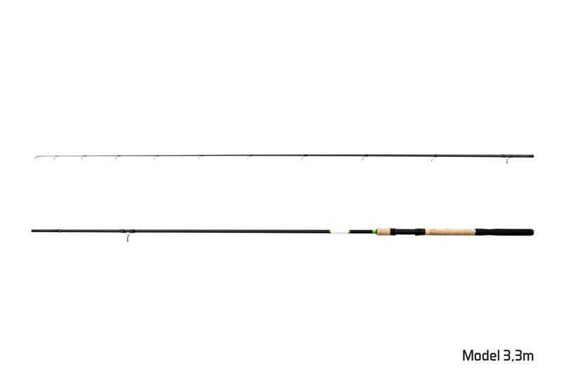 Prut Delphin Hybrix Match/Picker + 3 špičky 2,7m/30g+60g