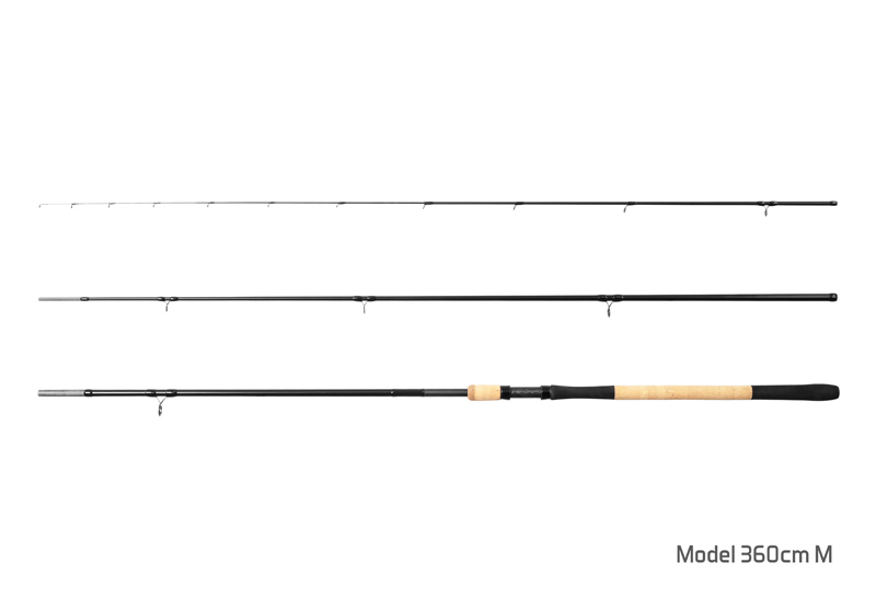 Delphin RYTUAL Feeder + 3 špičky 360cm M