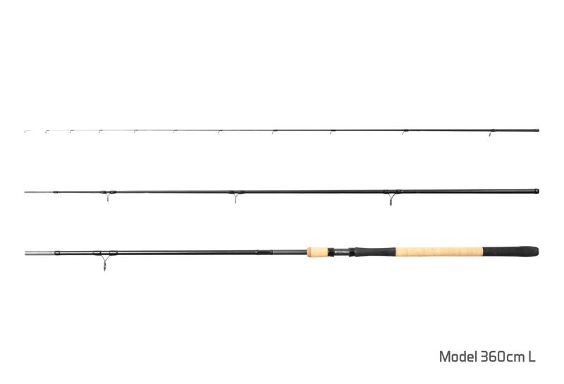 Delphin RYTUAL Feeder + 3 špičky 360cm L