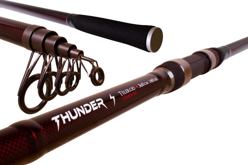 Prut Delphin Thunder Telerod 360cm/do140g