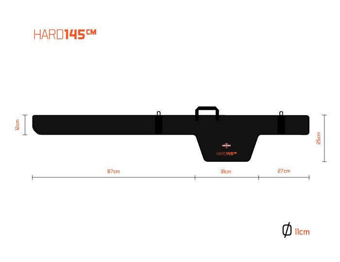 Delphin Dravec HARD 115cm