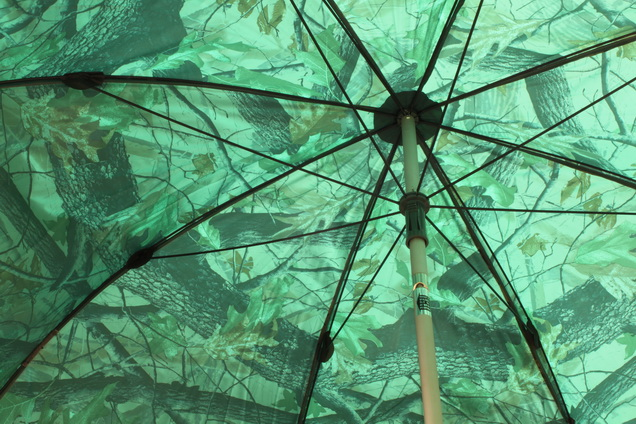 Dáždnik PVC s predlženou bočnicou