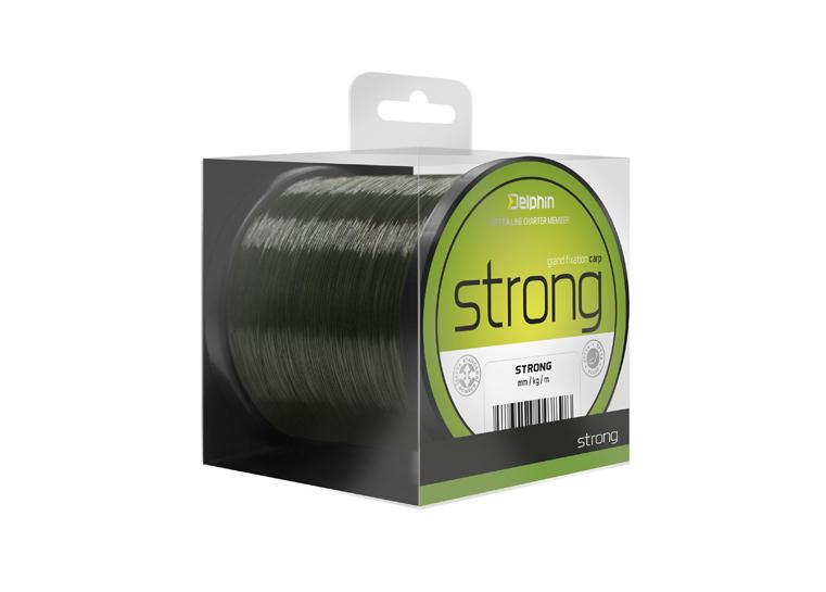 FIN STRONG CARP 300m/tm.oliva0,25mm 12,1lbs
