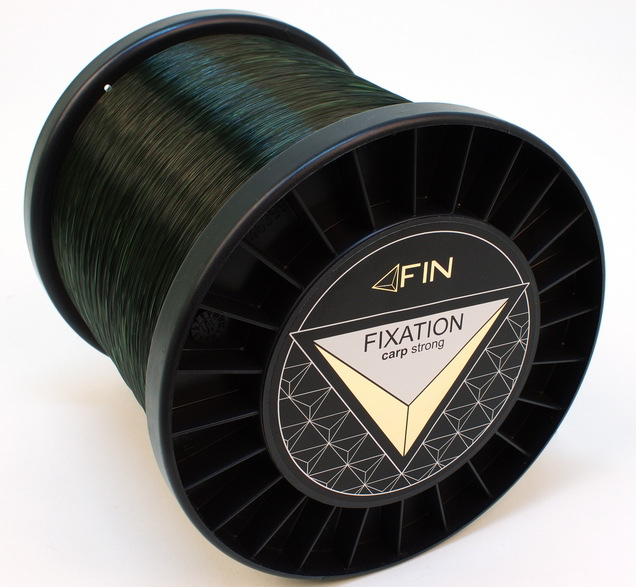 FIN STRONG CARP 5000m/tm.oliva0,25mm 12,1lbs