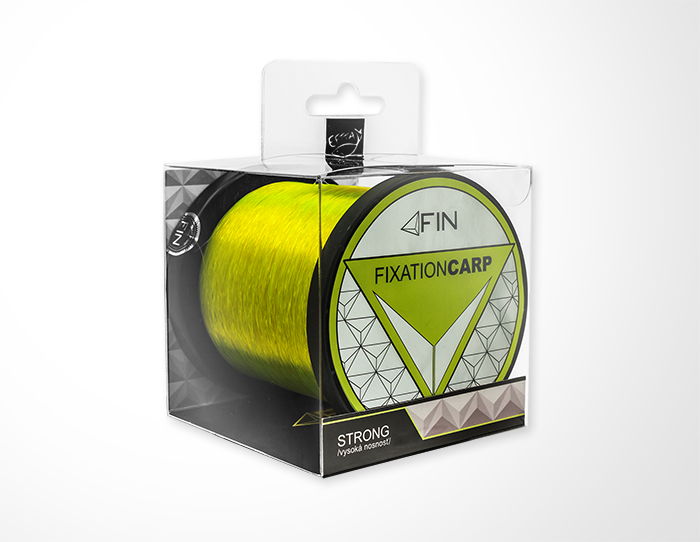 FIN STRONG CARP 600m/žltá0,28mm 14,3lbs