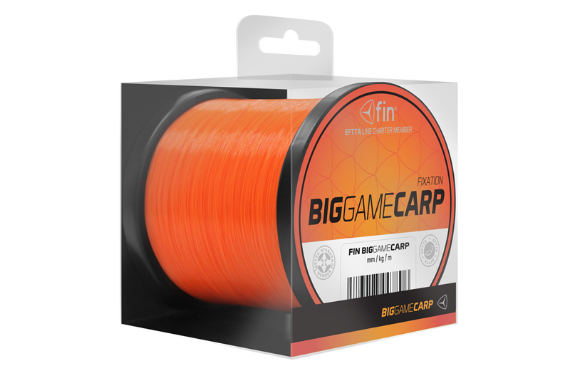 FIN BIG GAME CARP  300m/oranž0,25mm 9,3lbs