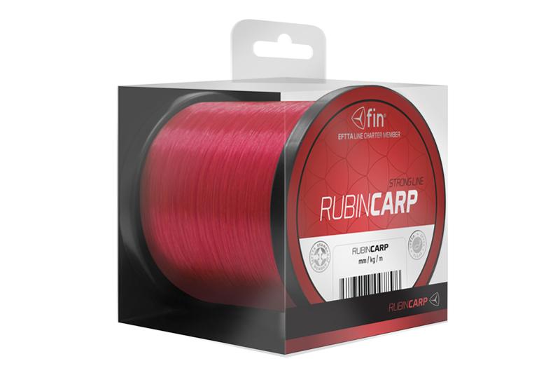 FIN RUBIN CARP 3700m / červená 0,37mm 25,6lbs