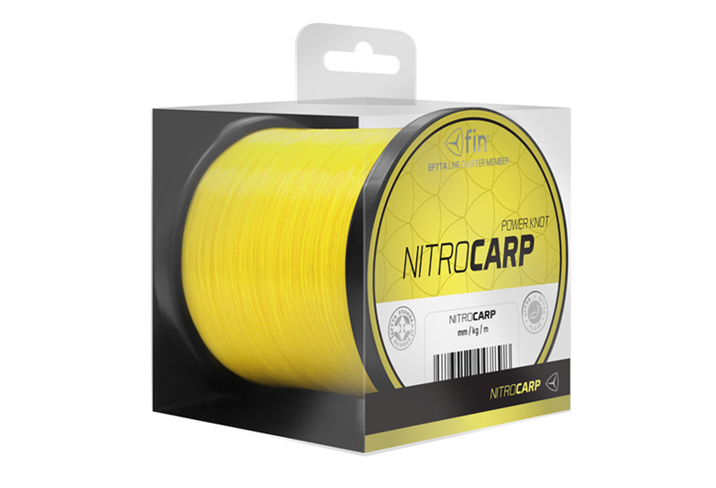 FIN NITRO CARP 600m / sytě žlutá