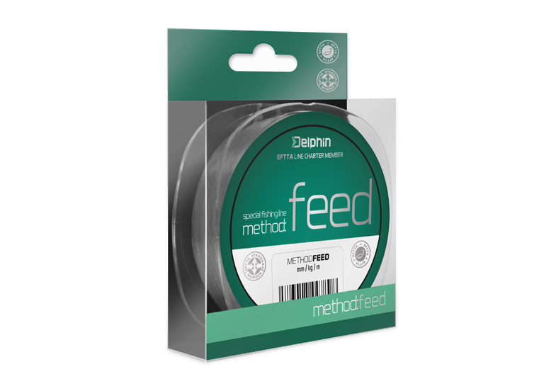 FIN METHOD FEED 150m/sivá0,14mm 4lbs