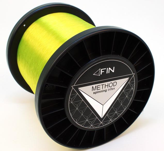 FIN METHOD SPIN  5000m/fluo žltá