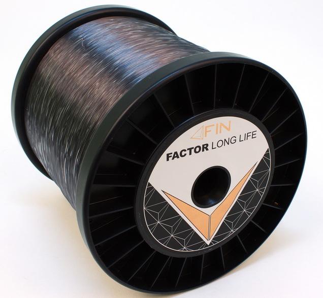 FIN FACTOR LONG LIFE  5000m/sivá0,25mm 12,1lbs