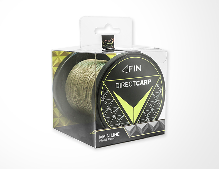 FIN RECORD CARP 600m/zelená0,16mm 6,2kg
