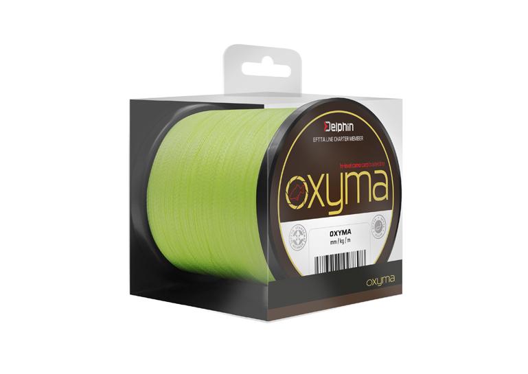 Delphin OXYMA 150m/fluo žlutá