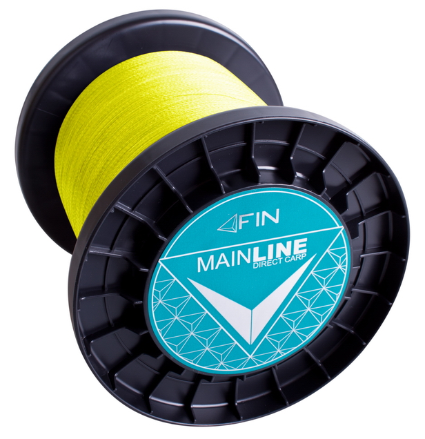 FIN RECORD CARP 3500m/fluo žltá