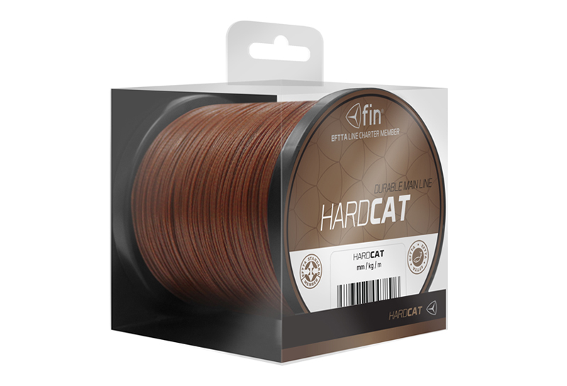 FIN HARD CAT main line 150m/červ.h0,80mm 78,2kg