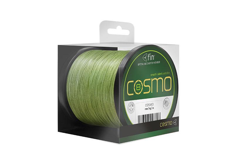 fin COSMO 300m / zelená0,12mm 6,70kg