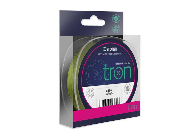 fin TRON zelená / 130m