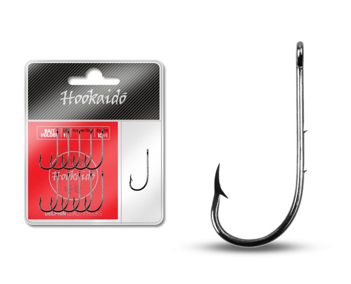 Háček Delphin HKD BAITHOLDER ring / 10+1ks