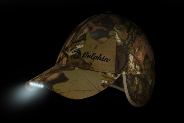 Zimná čiapka DELPHIN s LED