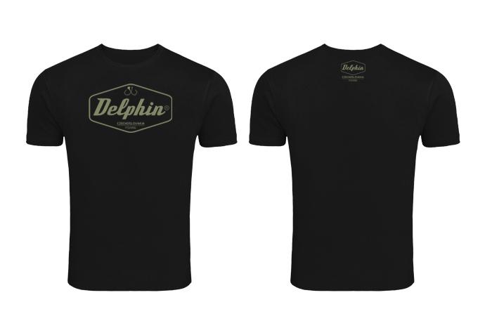 Tričko Delphin Czechoslovakiačierna / S